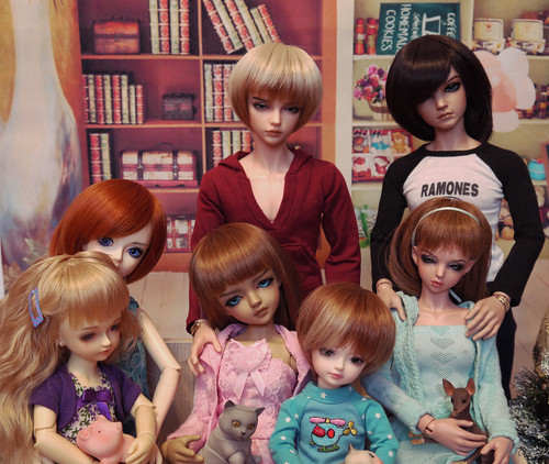 My doll family 2015