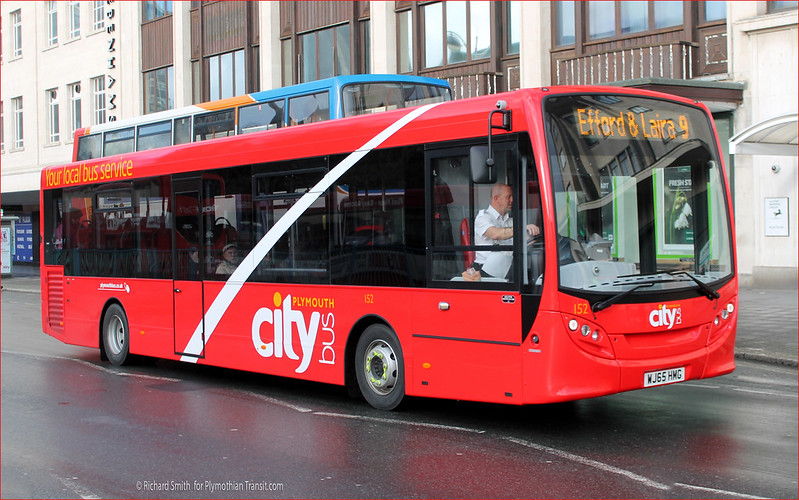 Plymouth Citybus 152 WJ65HMG