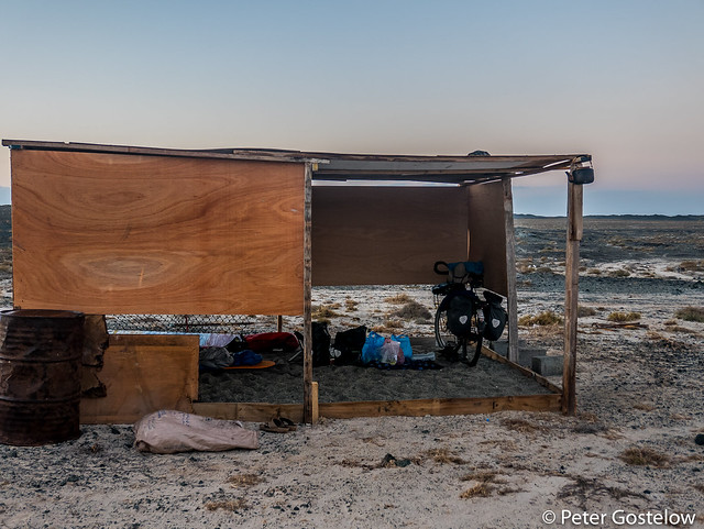 Masirah Island camp