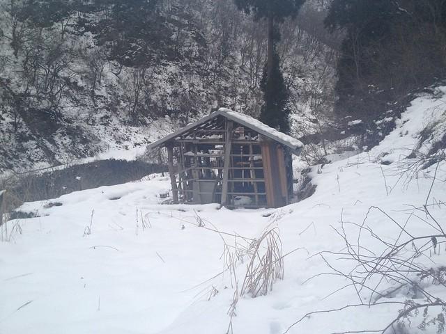 土蔵岳 支尾根末端 畑小屋