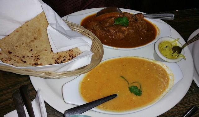 2016-Feb-17 Cafe Kathmandu - khasiko maasu combo
