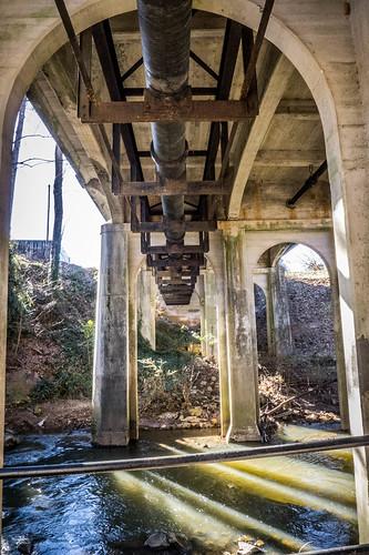 Cleveland Street Bridge over Swamp Rabbit Trail