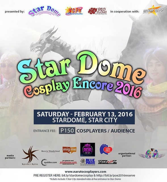 Star Dome Cosplay Encore 2016 at Star City