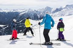 Lyžování v tyrolských Alpách s dětmi