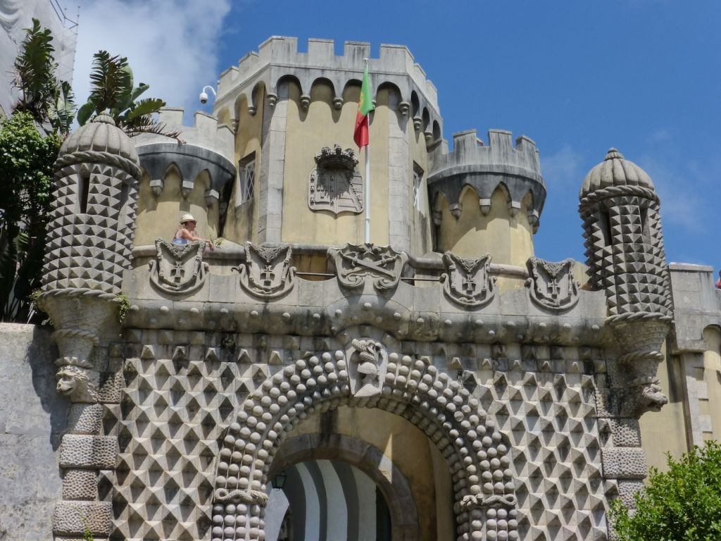 Entry to the Pena Palace