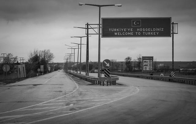 Frontière Grèce-Turquie