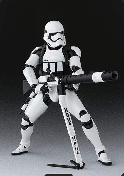 S.H.Figuarts 《星際大戰:原力覺醒》帝國First Order 組織帝國暴風兵(重型砲手版)