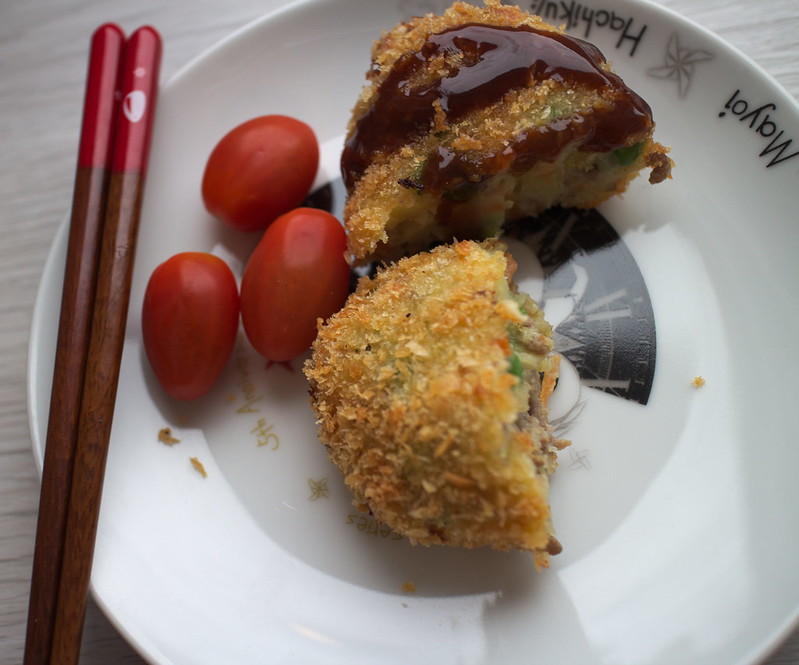 Japanische Kroketten (Korokke)