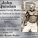 John Quinlan - Featured Deadly Reads Radio Cover Model & Actor Interview Coming February 25, 2016