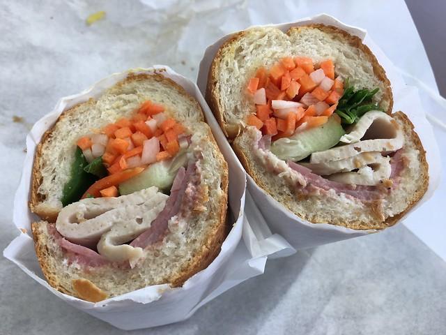 Special ham sandwich - Vietnamese Cart