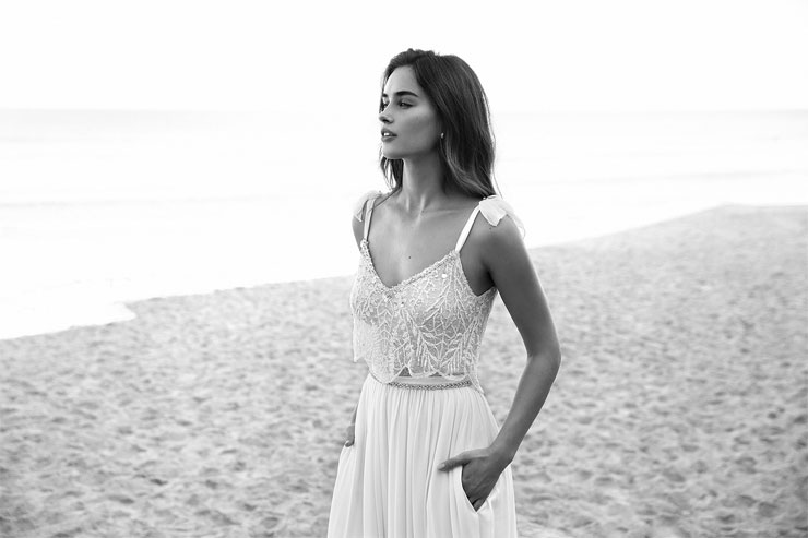 White Bohemian by Lili Hod 2016 Wedding Dresses - Lucy Wedding Dress,2-piece wedding dress | I Take You UK Wedding Blog