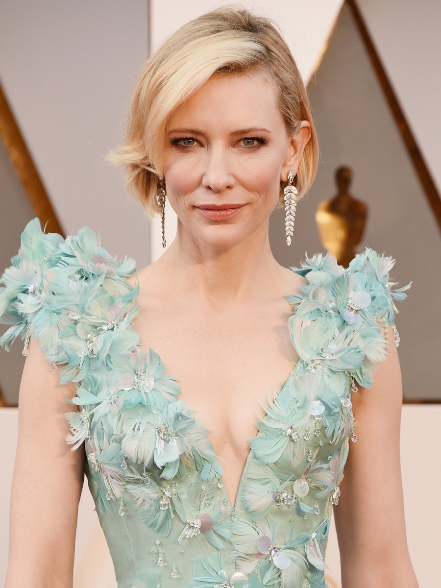 Oscars 2016 Cate Blanchett Hair and Makeup