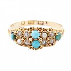 turquoise-and-pearl-ring