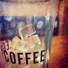 Ice coffee break is over.