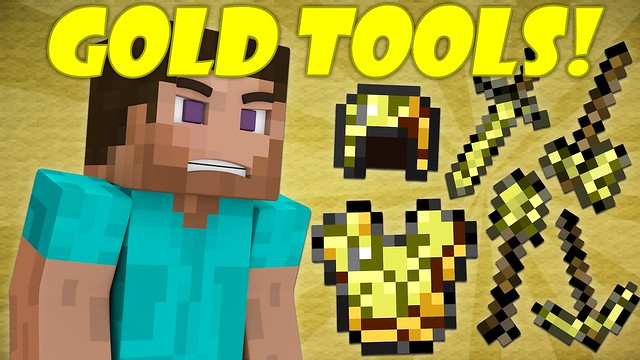 Minecraft Are Golden Tools Useless?