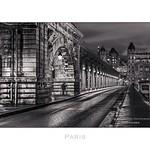Paris n°19 Pont de Bir-Hakeim at night