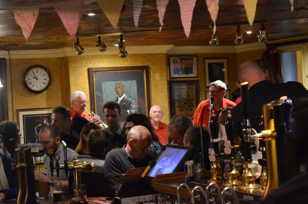 Jazz tous les soirs de la semaine au Old Duke dans la Vieille Ville de Bristol.