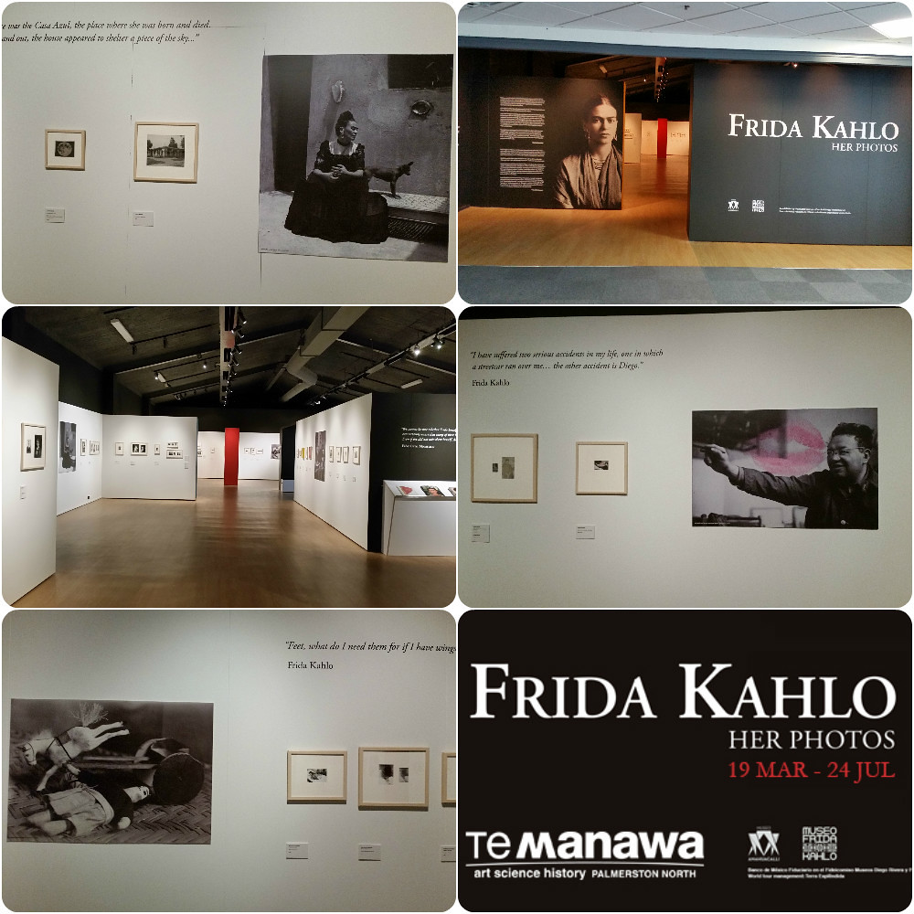 Exhibición Frida Kahlo-Her Photos en Nueva Zelandia
