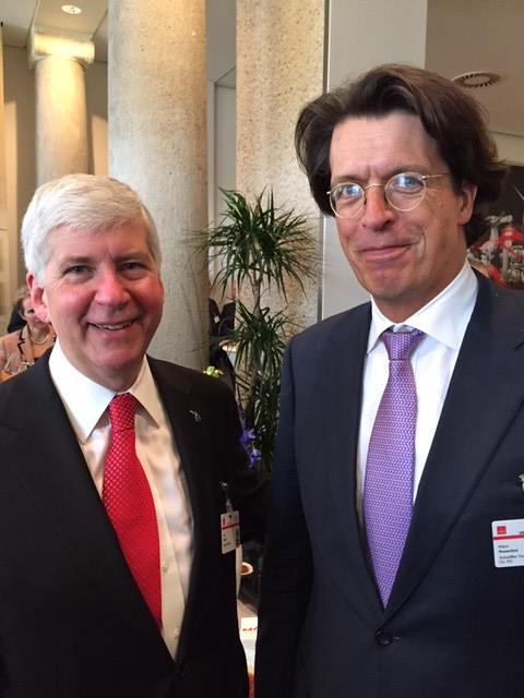 Gov. Snyder on 2016 investment mission to Europe