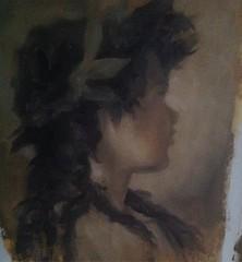 Estudo em óleo a partir de um quadro do Velásquez #oilpainting #velasquez