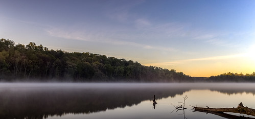 trees sky reflection water sunrise landscape us nc scenery unitedstates northcarolina mtholly mountholly catawbariver gastoncounty