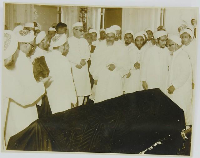Syedna Taher Saifuddin's RA Janaaza Mubaraka