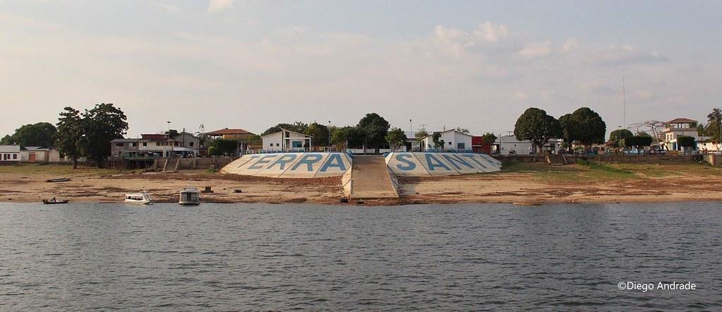 Terra Santa, Belterra, Juruti, Óbidos, Mojuí dos Campos e Rurópolis em 6 notas curtas, Terra Santa, oeste do PA