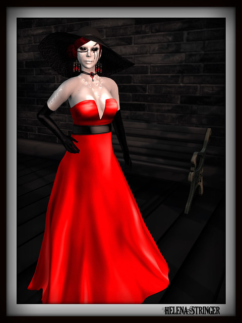 Helena Stringer - Free*Style - Lady in Red - 1