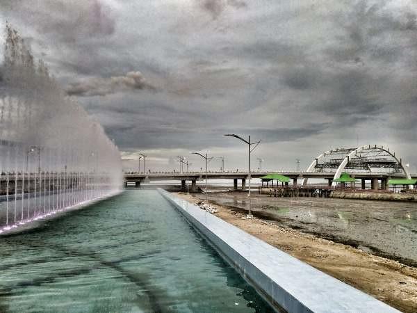 Air Mancur Jembatan Kenjeran