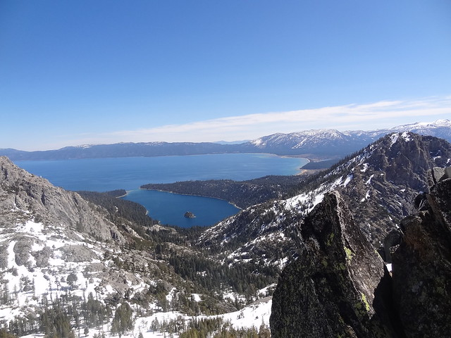 Lake Tahoe and Maggies Peak