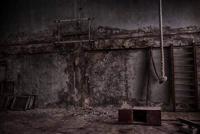 Pripyat Gym, Chernobyl