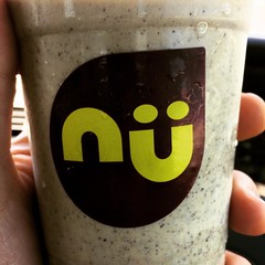So today as part of my late lunch I had a #nutter #smoothie from @nuhealthfood with #hempseed instead of whey to go with my #greenmondaysa vibe