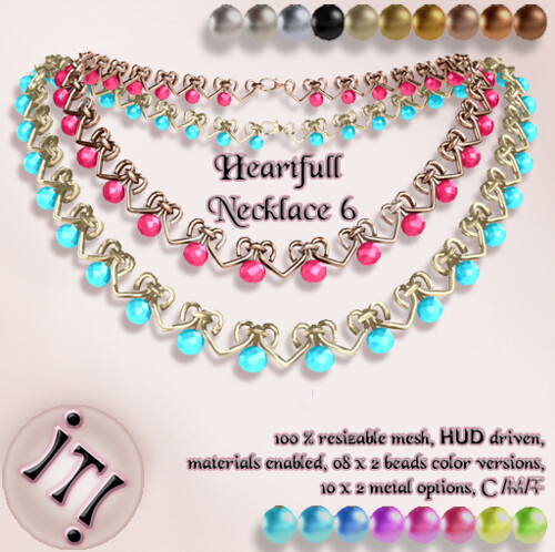 !IT! - Heartfull Necklace 6 Image