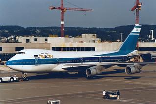 El Al Israel Airlines Boeing 747-258B 4X-AXH