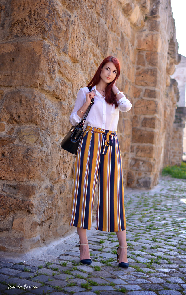 stripped culottes7