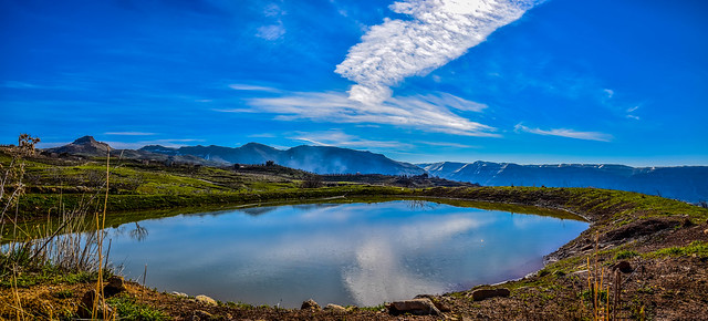 Laklouk Lake, Lebanon