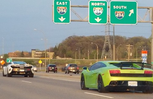 12 Speeding Supercar Club Driver's Named In I-394 Chase