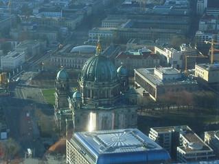 Blick vom Fernsehturm - Berliner Dom