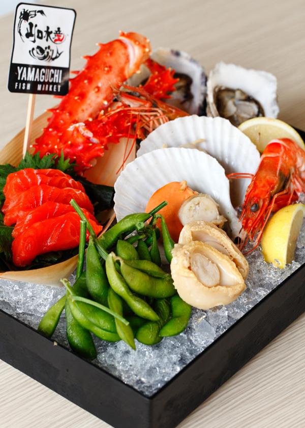 Yamaguchi Signature Sashimi Seafood Platter