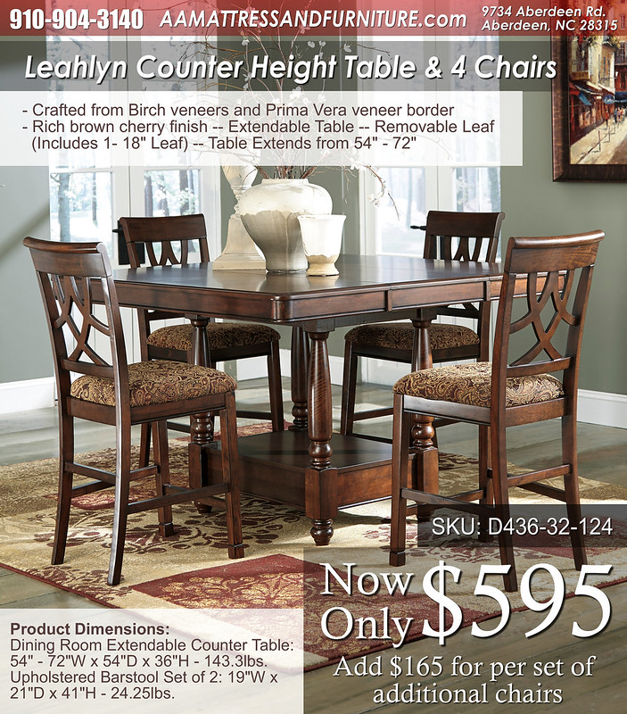 Leahlyn Counter Height Set WM
