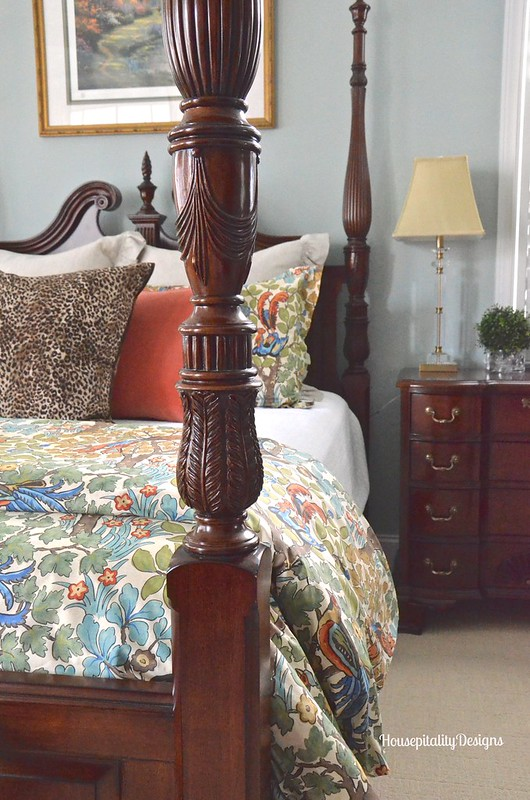 Pottery Barn Mayle Bedding/Master Bedroom - Housepitality Designs
