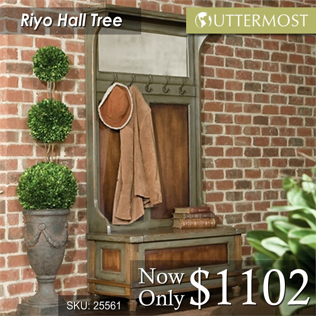 25561 Riyo Hall Tree $1102