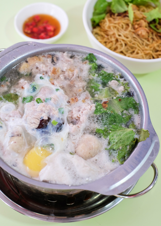 Teochew Mushroom Minced Meat Noodle @ Ci Yuan Hawker Centre