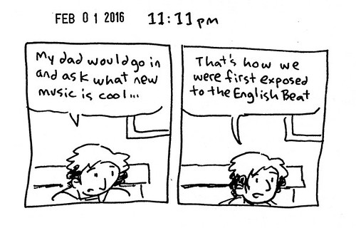 Hourly Comic Day 2016 - 11:11pm