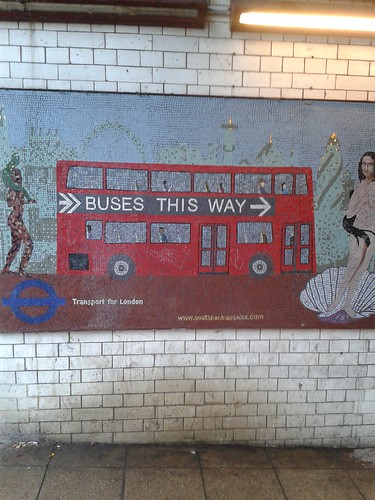South Bank Mosaics Near Waterloo Station