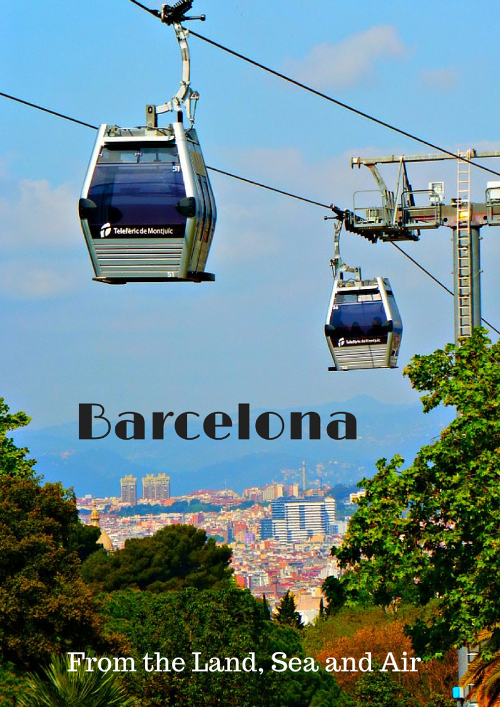 Barcelona Land Sea and Air Tour