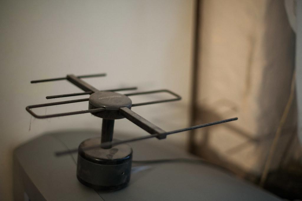 Beltéri digitális antenna | Fotó: Magócsi Márton
