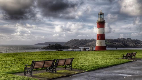 Smeaton's Tower, Plymouth Hoe, Plymouth.