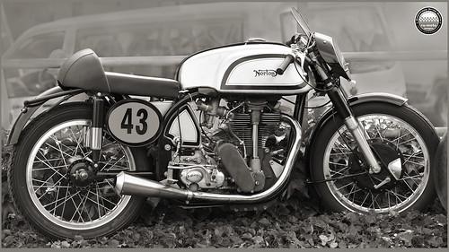 Norton Manx 500 1951 Oldtimer GP Schwanenstadt (c) 2016 Бернхард Эггер :: ru-moto images 1873 ccsepia