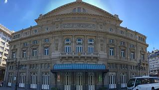 Buenos Aires - Teatro Colon back
